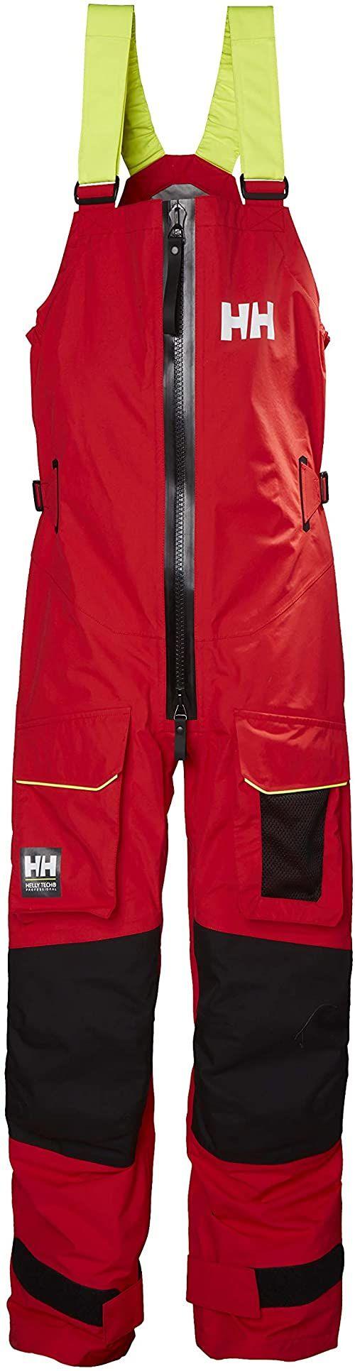 Helly Hansen męskie Aegir Ocean Regenhose spodnie przeciwdeszczowe, czerwone, S