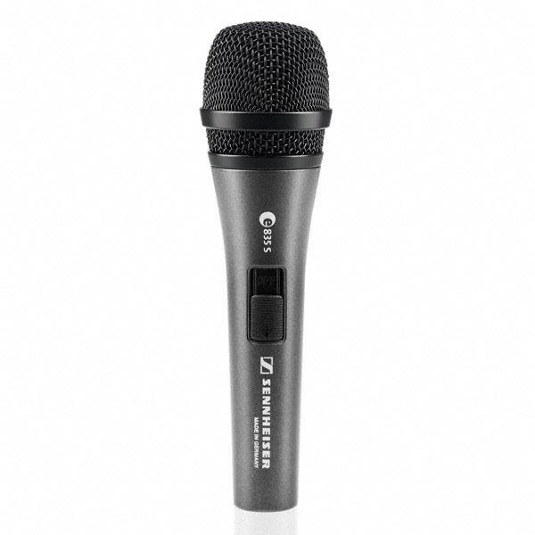 Sennheiser Evolution e835S - mikrofon dynamiczny z wyłącznikiem Sennheiser e835S - mikrofon dynamiczny z wyłącznikiem