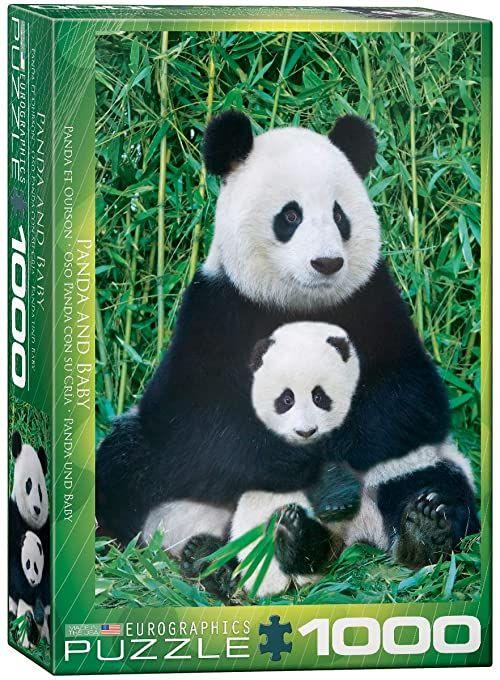 Eurographics Puzzle Panda Bear and Ba, 1000 części