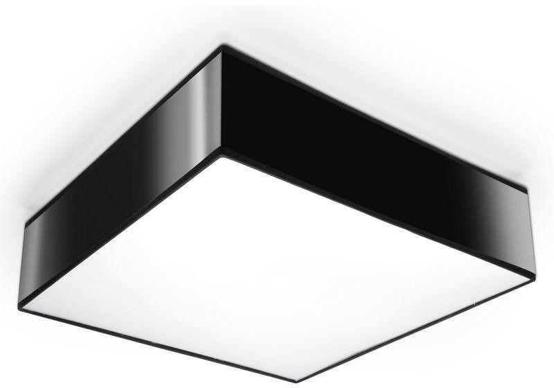 Sollux - plafon horus 35 - czarny