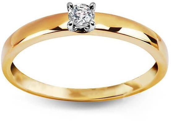 Złoty pierścionek PXD4744 - Diament