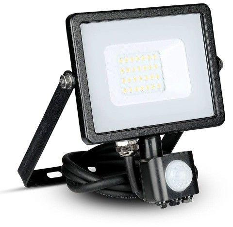 Naświetlacz 20W 3000K V-TAC SAMSUNG LED z czujnikiem VT-20-S