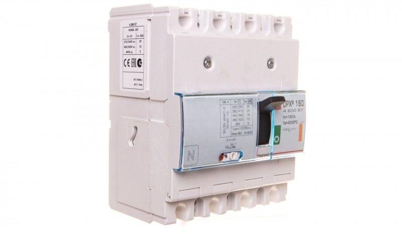 Wyłącznik mocy 160A 4P 25kA DPX3 160 420057