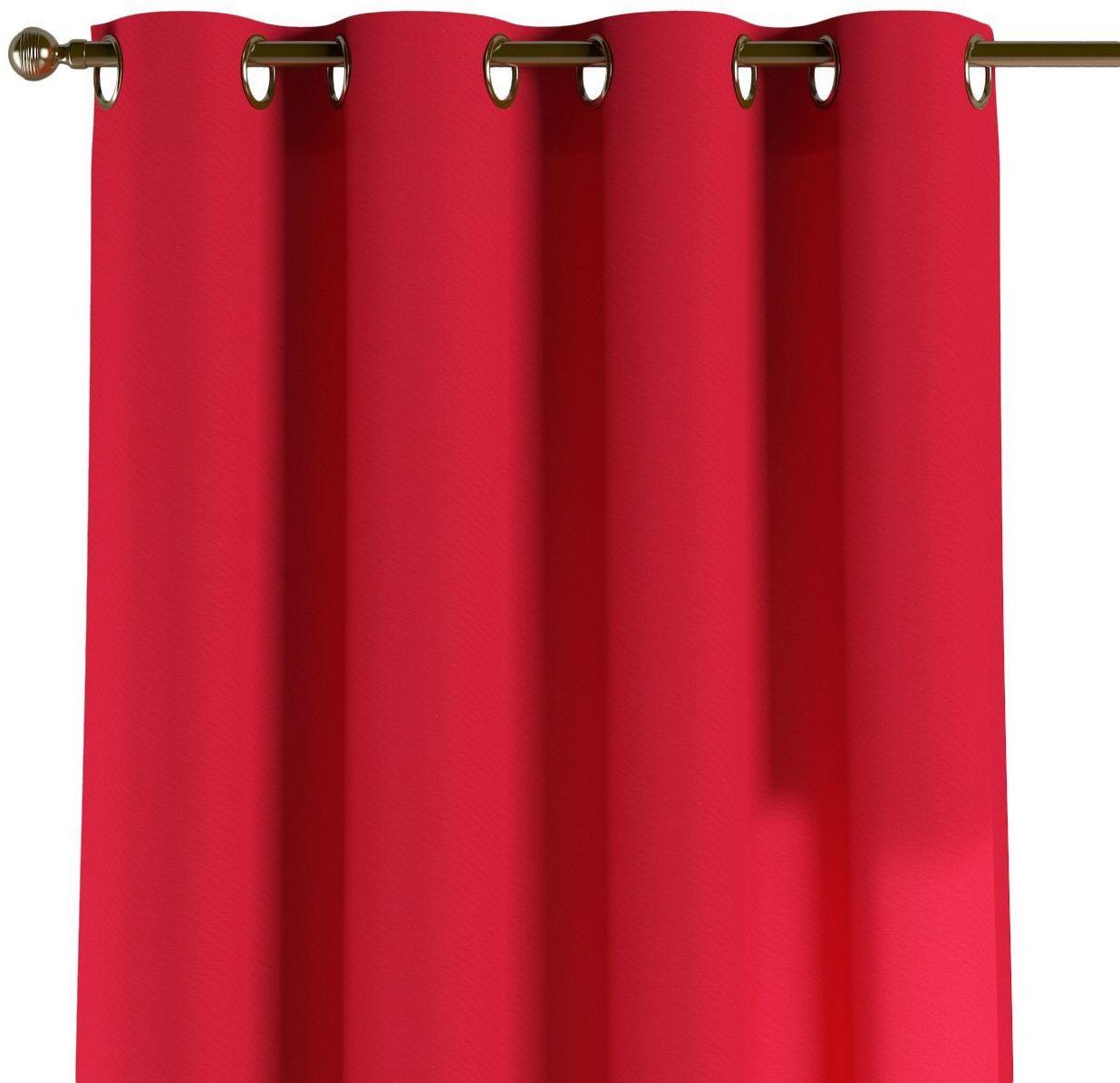 Zasłona na kółkach 1 szt., czerwony, 1szt 130  260 cm, Quadro