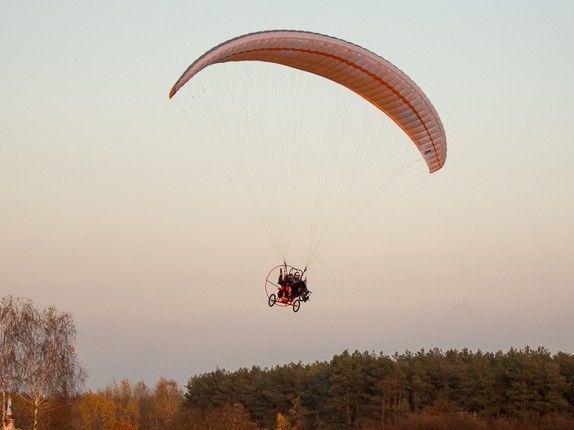 Lot paralotnią - Warszawa II