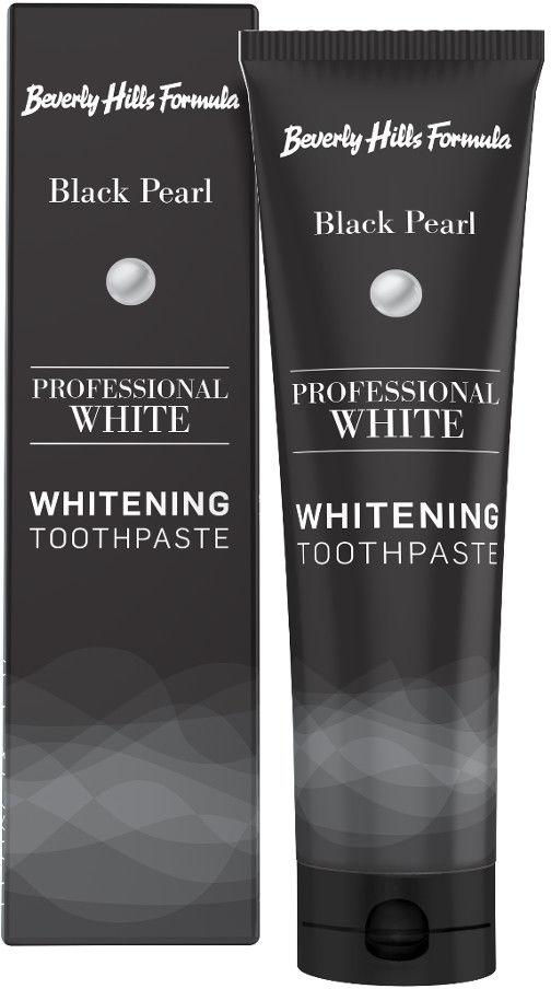 BEVERLY HILLS Professional White 100ml - wybielająca pasta do zębow z aktywnym węglem