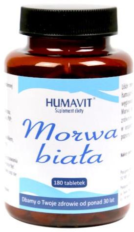 Humavit Morwa Biała 180 tabletek