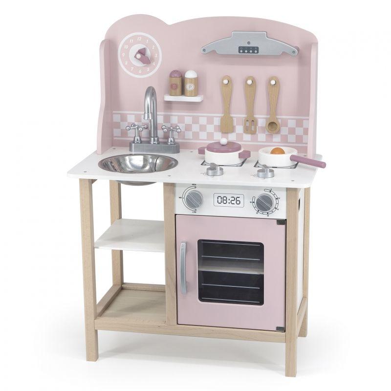 VIGA PolarB Kuchnia z Akcesoriami Silver - Pink LK