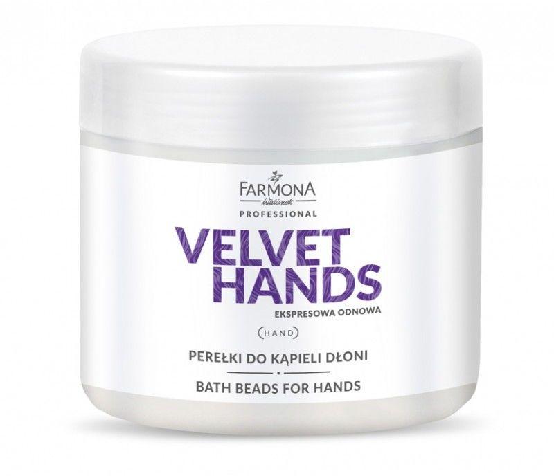 Farmona Velvet Hands Perełki Do Kąpieli Dłoni 330g