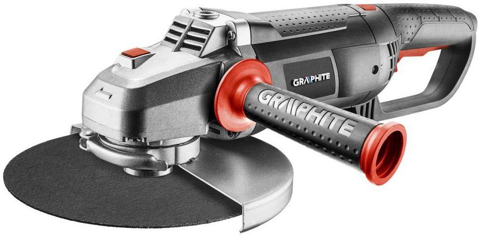Szlifierka kątowa przewodowa 230 mm 2600 W 59G208 GRAPHITE