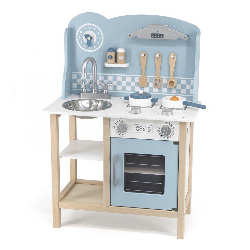 VIGA PolarB Kuchnia z Akcesoriami Silver - Blue LK