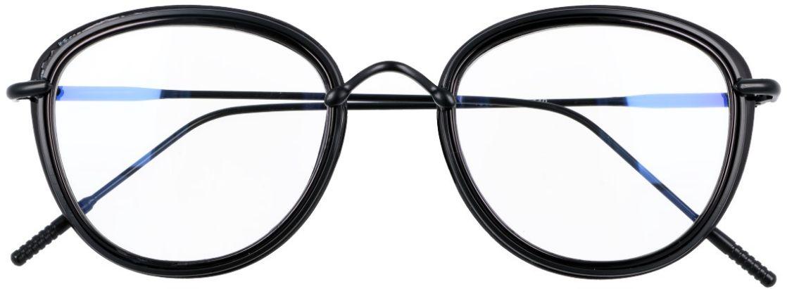 Oprawki okulary z filtrem Zerówki z antyrefleksem Owalne - a''la Lenonki  2269-1