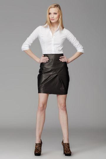 Spodniczka Be Impressive...! M090 czarna