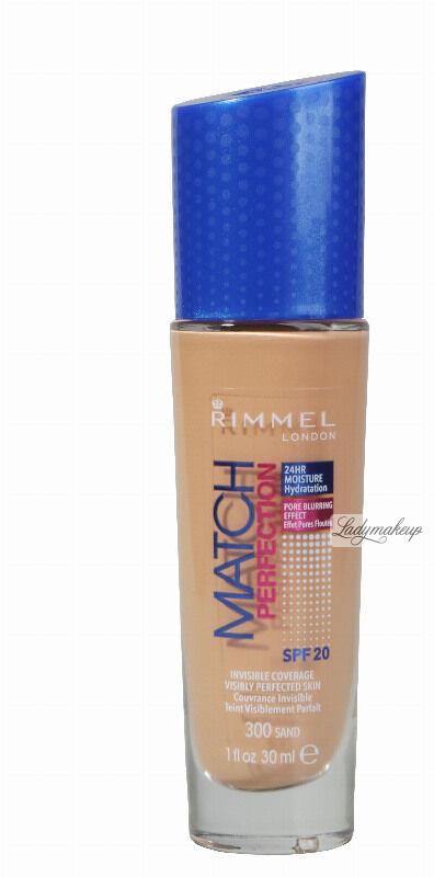 RIMMEL - MATCH PERFECTION FOUNDATION - Kryjący pokład do twarzy - 30 ml - 300 - SAND