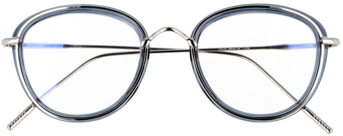 Oprawki okulary z filtrem Zerówki z antyrefleksem Owalne - a''la Lenonki  2269-6