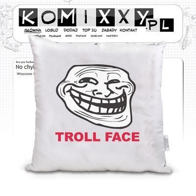 Poduszka TrollFace