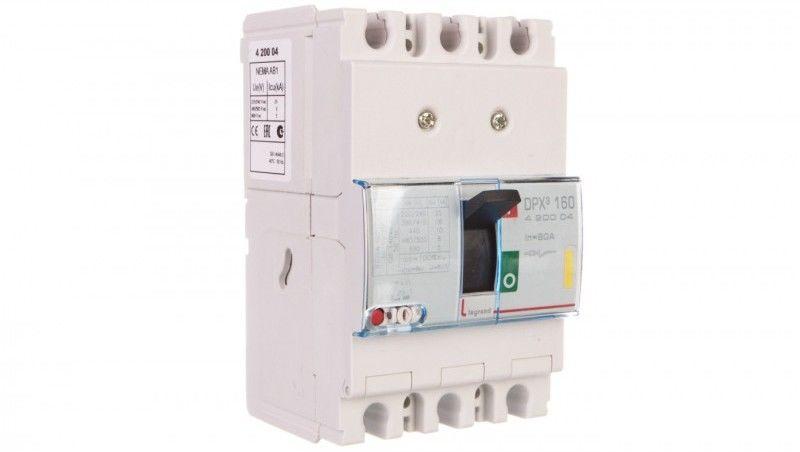 Wyłącznik mocy 80A 3P 16kA DPX3 160 420004