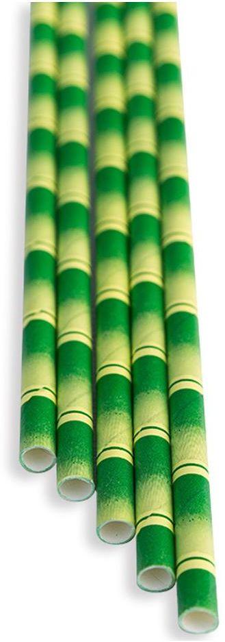 Słomki papierowe bambus