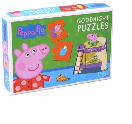 Puzzle na Dobranoc Świnka Peppa 20 el. - Barbo Toys
