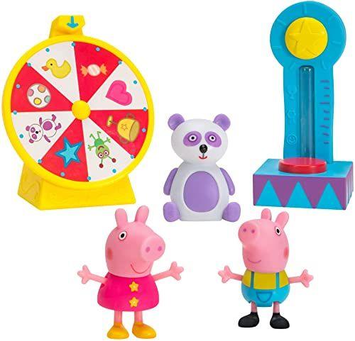 Peppa Pig PEP0668 Peppa zestaw figurek do zabawy, zestaw do zabawy z rummelem