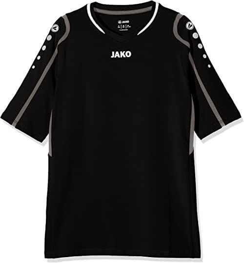 JAKO dziecięca koszulka do siatkówki Bloczek do siatkówki, czarny/szary/biały, 164