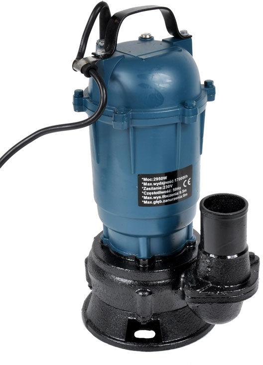 Pompa do wody i szamba z rozdrabniaczem 17000l/h