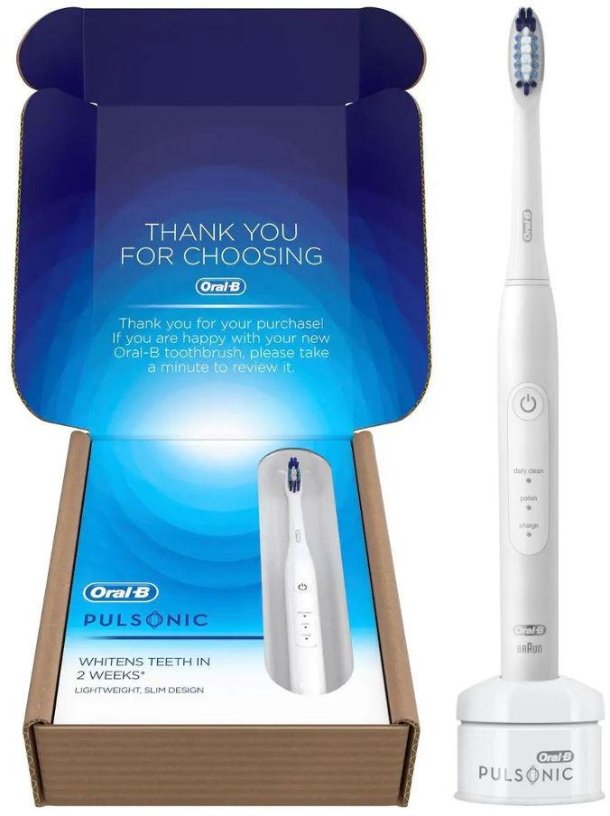 BRAUN Oral-B PULSONIC 2000 White - szczoteczka soniczna Ora-b Slim One