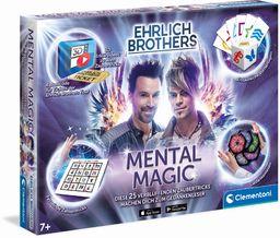 Clementoni 59182 Ehrlich Brothers Mental Magic, magiczna skrzynka dla dzieci od 7 lat, magiczna instrukcja do zaskakujących czarodziejskich sztuczek, w zestawie filmy z wyjaśnieniami 3D