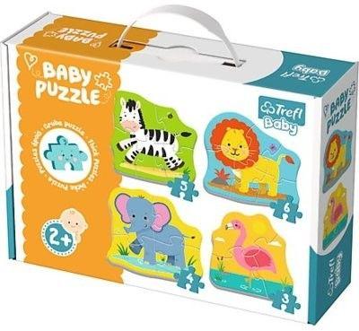 Trefl Trefl Baby Classic Pierwsze Puzzle Zwierzęta 2+ 5716-uniw
