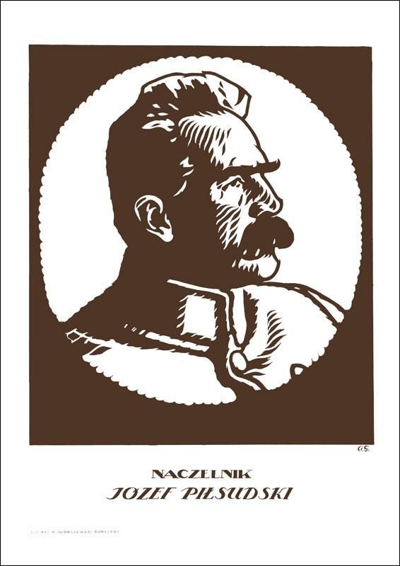 Plakat A3 - Naczelnik Józef Piłsudski A3-GPlak1920-027