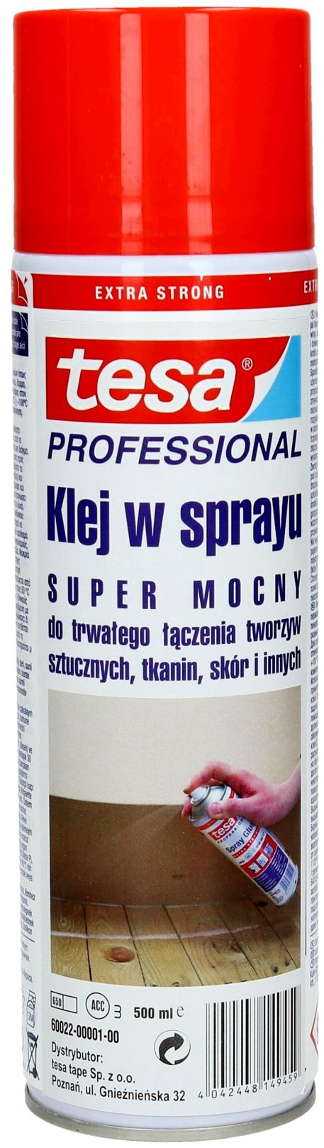 Klej spray 500ml Extra Tesa 60022