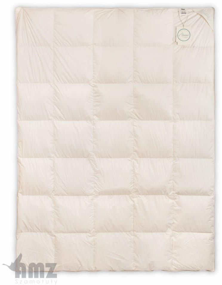 Kołdra Puchowa 180x200 AMZ Organic Cotton Całoroczna Puch 90%
