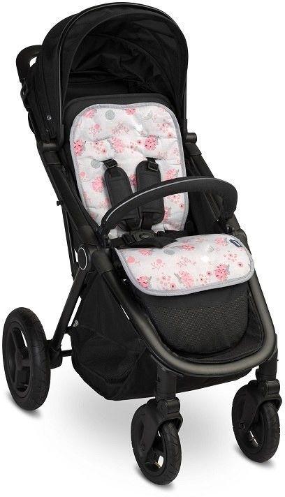 SENSILLO Wkładka do wózka Basic Jeżyki różowe