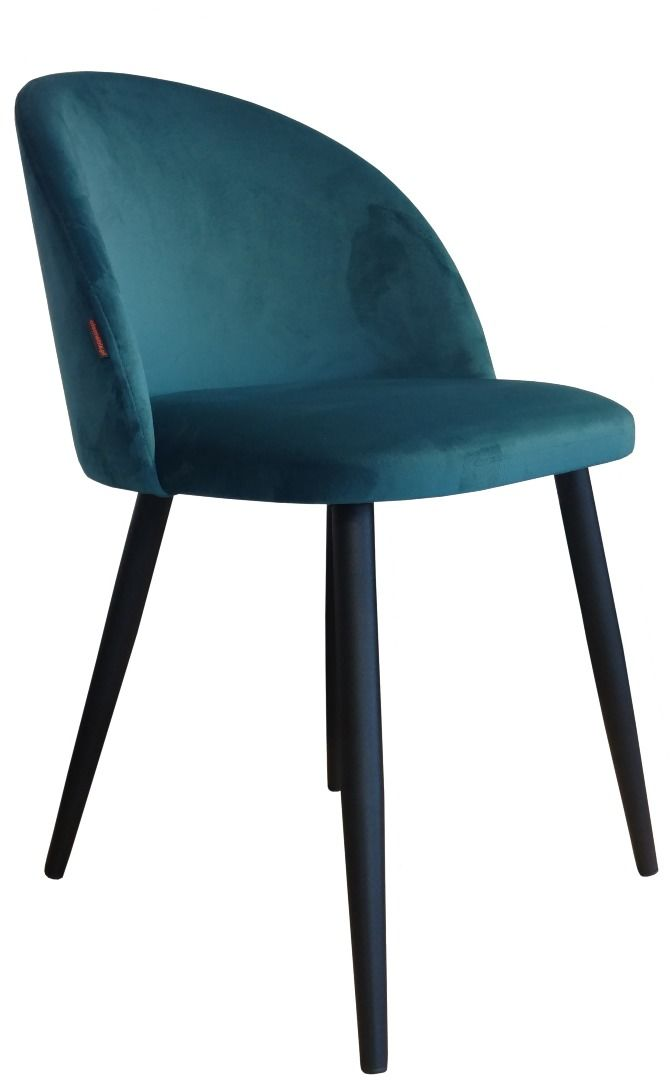 Krzesło CLAUDINE 1 VELVET morskie  Kupuj w Sprawdzonych sklepach
