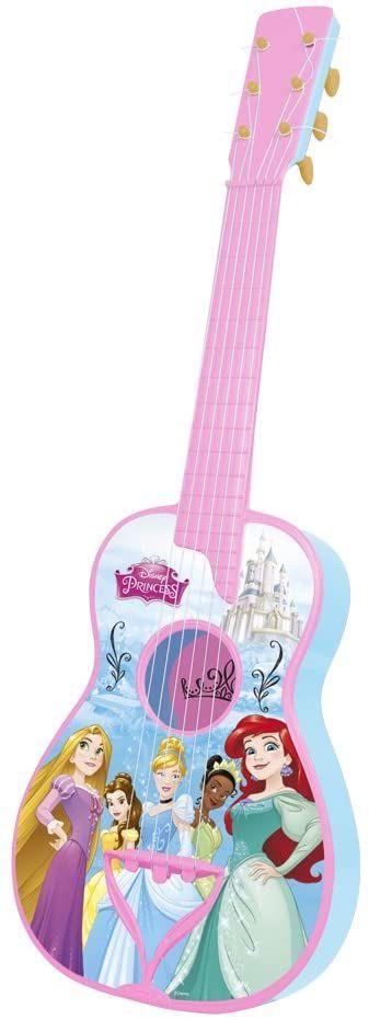 Reig 5282 Disney księżniczki gitara hiszpańska z 6 strunami