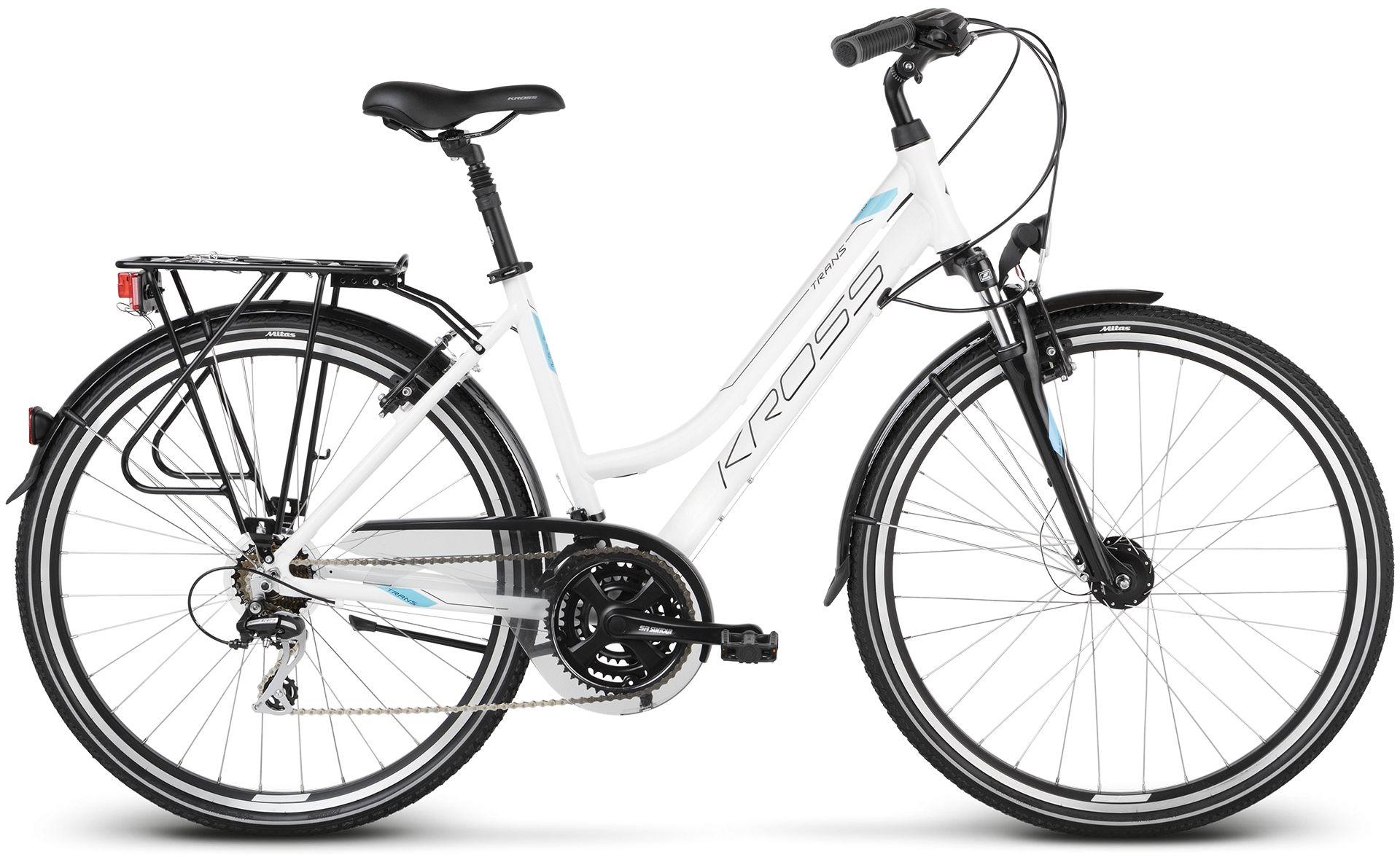 """Rower Kross TRANS 3.0 D 28"""" biały 2020"""