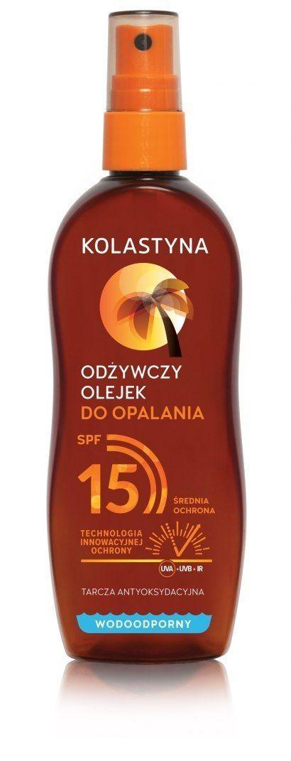 KOLASTYNA OPALANIE Kolastyna Opalanie Odżywczy Olejek do opalania SPF15 150ml