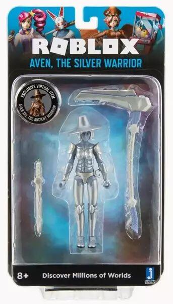 Roblox - figurka Aven, The Silver Warrior - TM Toys
