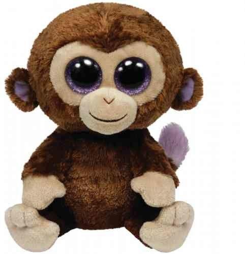 TY Pupilki Beanie Boos małpka Coconut 24cm