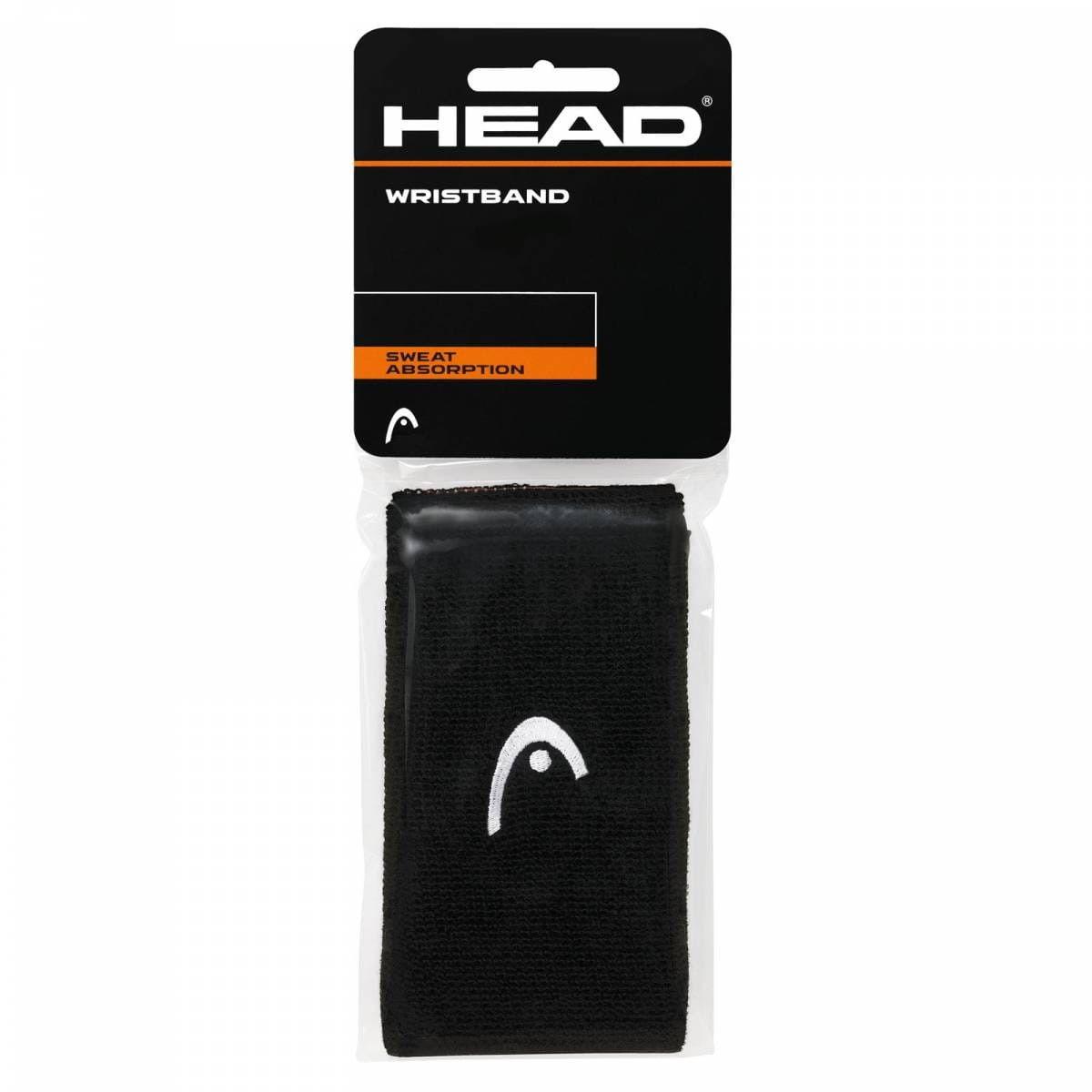 Head Frotki na nadgarstki 5'' - black