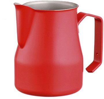 Motta dzbanek do spieniania mleka czerwony 500 ml