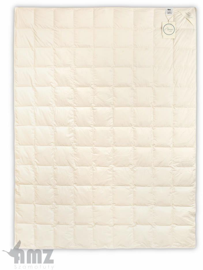 Kołdra Puchowa 200x200 AMZ Organic Cotton Całoroczna Puch 90%
