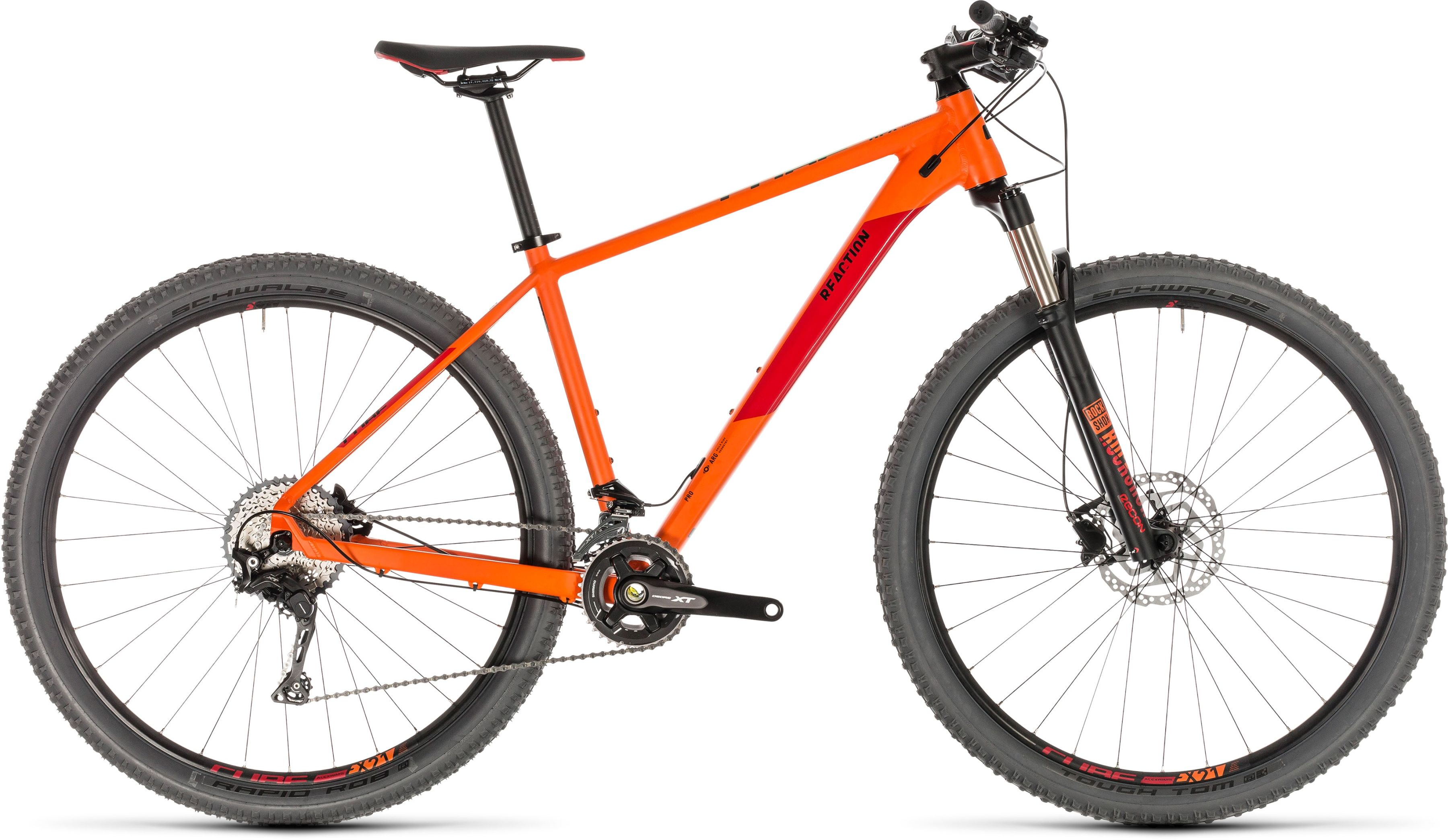 Rower Cube REACTION PRO 27.5 pomarańczowy...