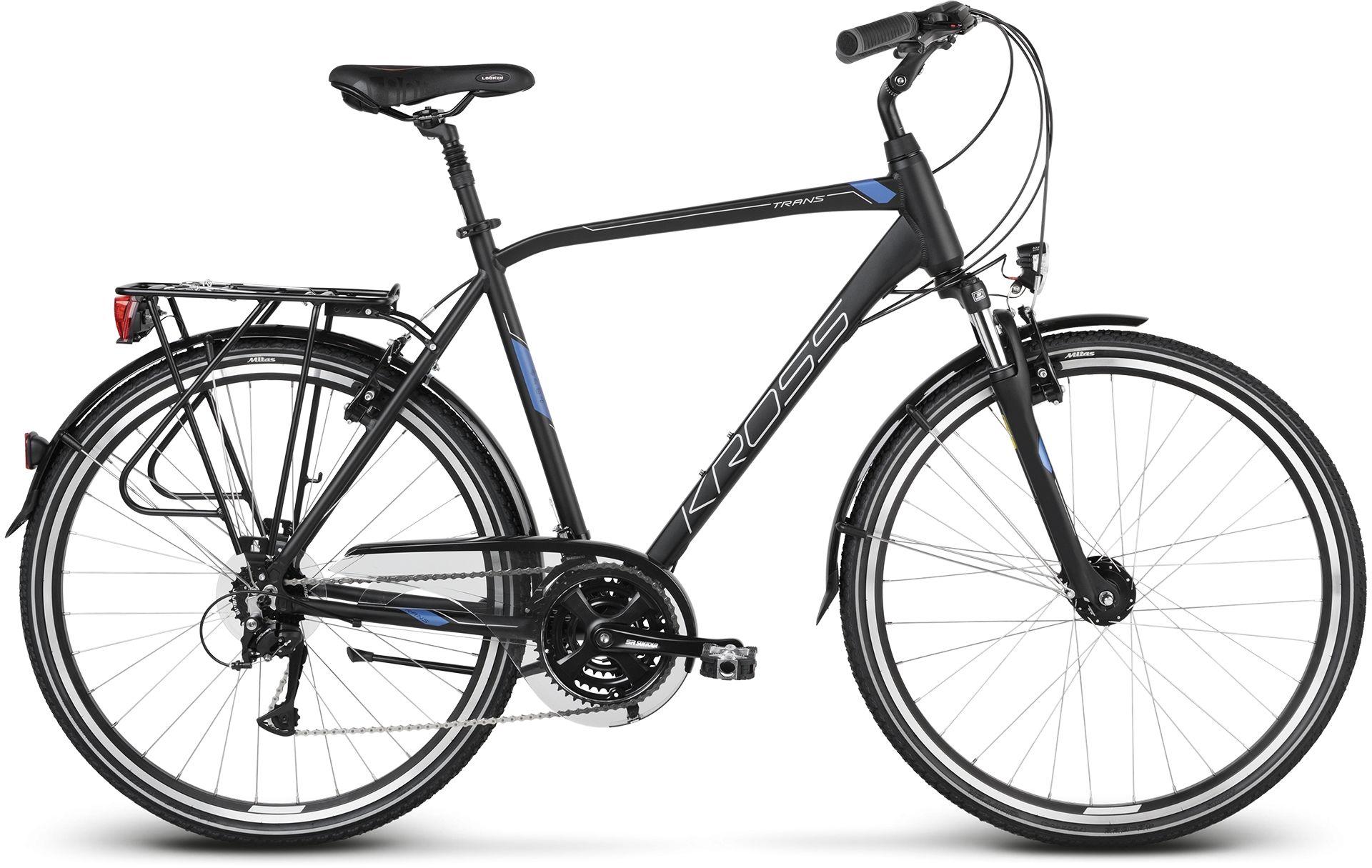 """Rower Kross TRANS 4.0 28"""" czarny 2020"""