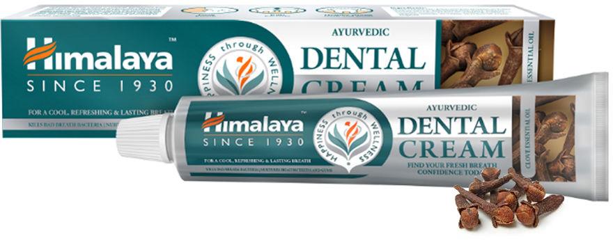 HIMALAYA Hebrals Dental Cream GOŹDZIKI - pasta do zębów z olejkiem z goździków