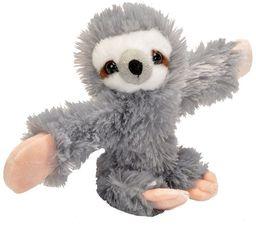 Wild Republic Huggers bransoletka zatrzaskowa przytulanka, pluszowe zwierzątko, leniwca 20 cm