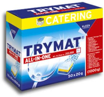 Kleen Trymat All In One - Tabletki do zmywarki