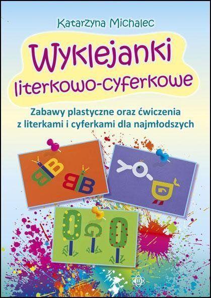Wyklejanki literkowo-cyferkowe - Katarzyna Michalec