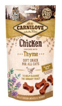 Brit Carnilove Urinary Snack Drogi Moczowe Chicken with Thyme Kurczak Tymianek 50 g