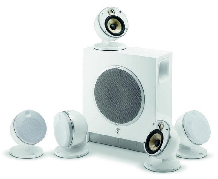 FOCAL DOME FLAX 5.1 (SUB AIR) Zestaw Kolumn Biały + UCHWYT i KABEL HDMI GRATIS !!! MOŻLIWOŚĆ NEGOCJACJI  Odbiór Salon WA-WA lub Kurier 24H. Zadzwoń i Zamów: 888-111-321 !!!